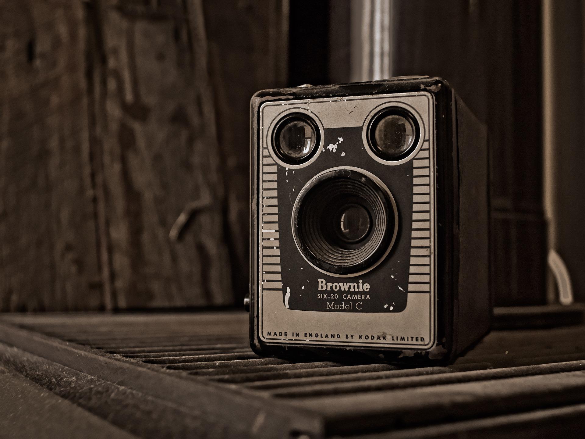 Kodak Brownie Box