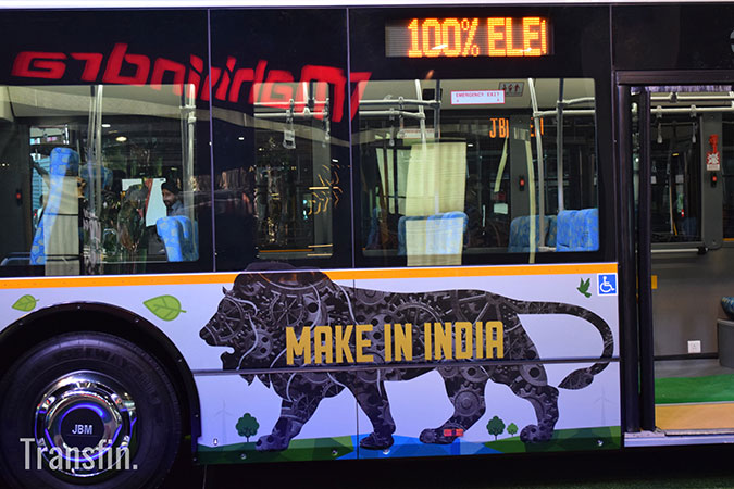 JBM Solaria EcoLife Bus - Opportunities and Challenges for Electric Vehicles in India