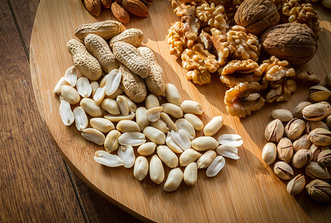 Almonds and Walnuts are the Best!