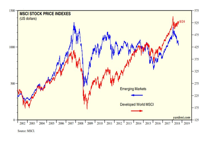 Do Emerging Markets Stand A Chance To Recover Against the Bull Market in US?