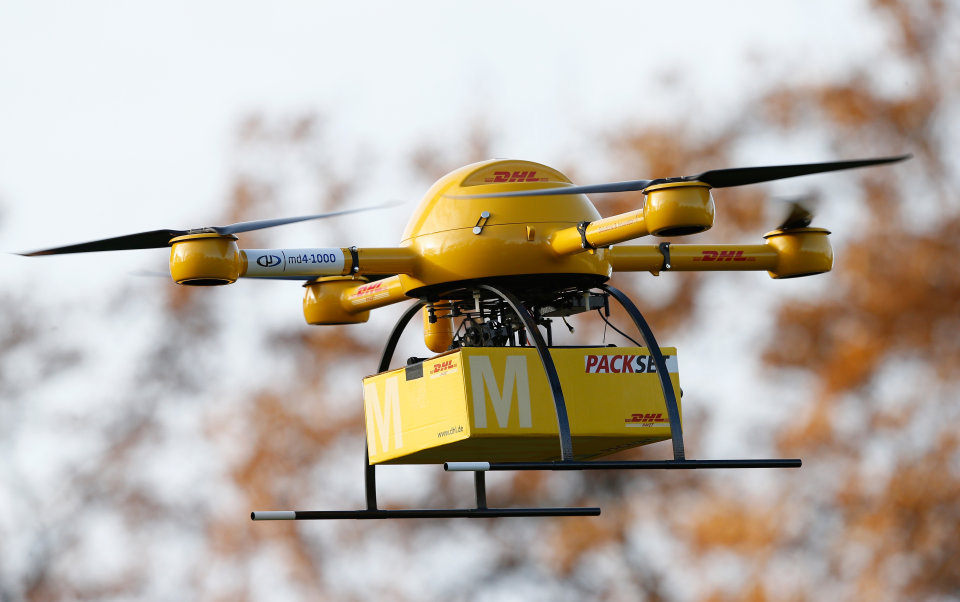 DHL on drones?