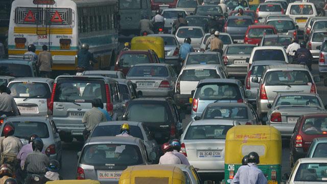 Smog and Air Pollution Shroud Delhi Ahead of A Not-so Happy Diwali