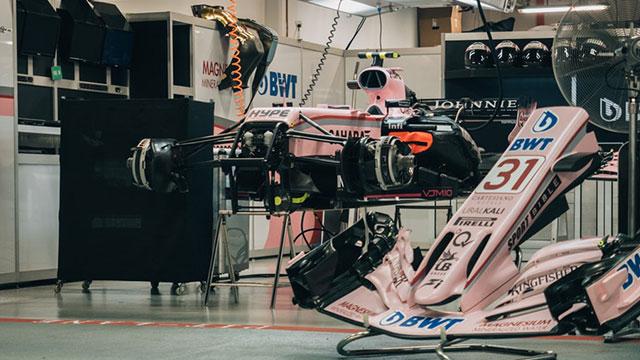 F1 - Inside The Garage