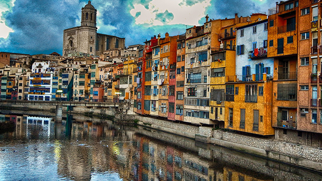 How Cyclists Brought a Property Bloom to Girona, An Ancient Spanish Town