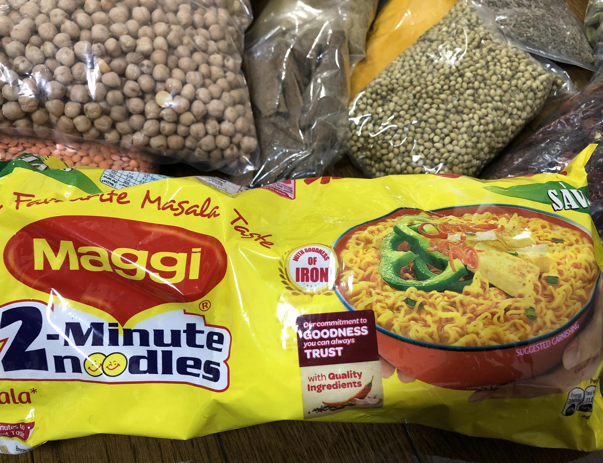 History of Maggi in India