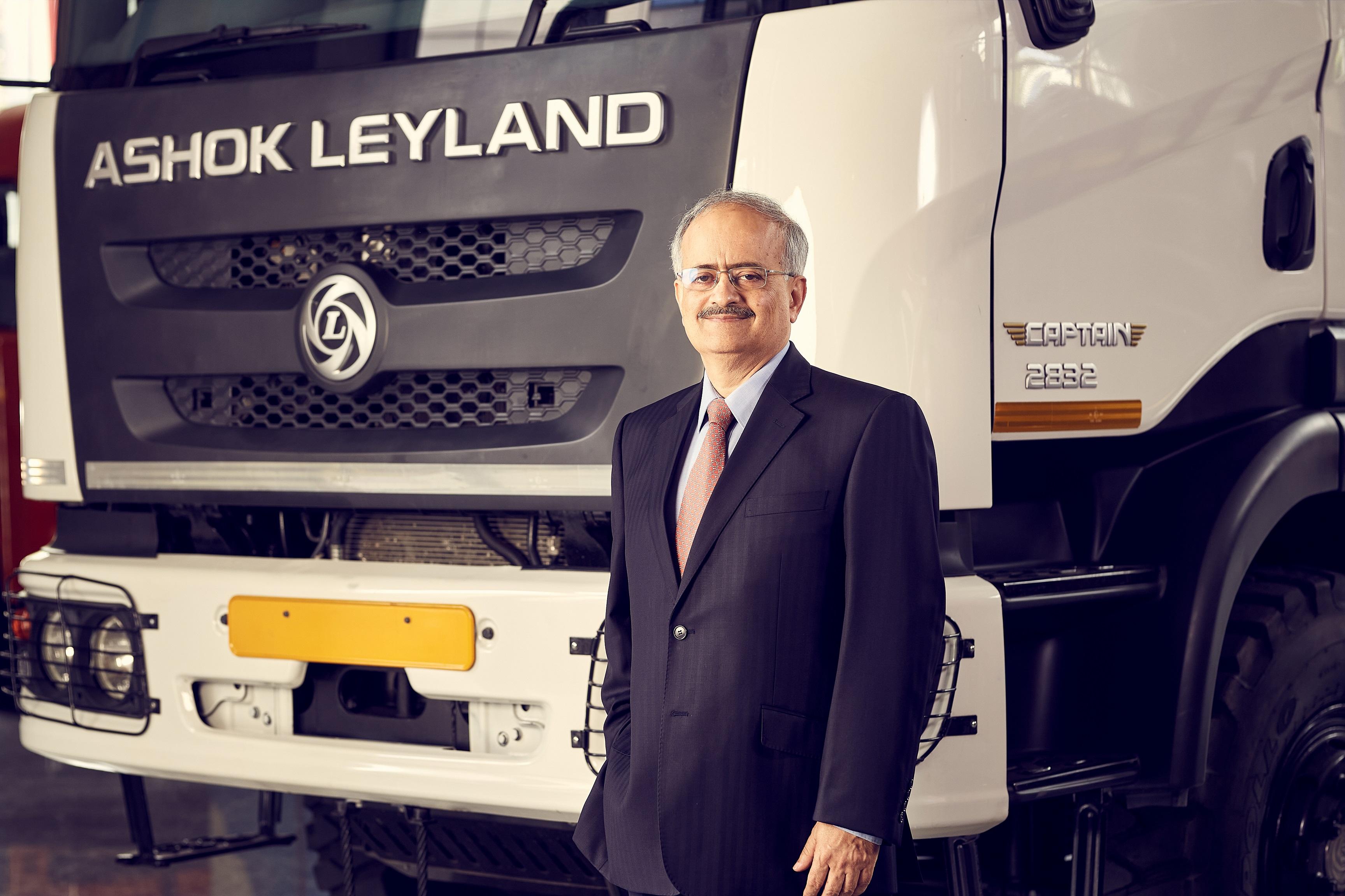 Mr. Vipin Sondhi (MD and CEO of Ashok Leyland)